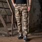 新款户外工装多口袋休闲迷彩裤长裤潮海浪虎斑AK军裤