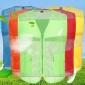 反光马甲  宣传工作服  定制工厂提供背心  活动披肩印Logo厂家热销