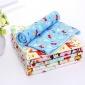 四季可用尿垫 防水透气 婴幼儿竹纤维法兰绒隔尿垫 儿童隔尿床垫
