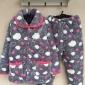 冬季睡衣女士加厚特价三层珊瑚绒棉袄夹棉法兰绒秋冬款家居服套装