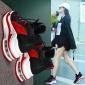 秋冬季加绒内增高显瘦厚底气垫运动鞋女韩版百搭2018新款网红女鞋